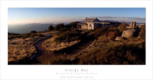 Craigs Hut, Classic View