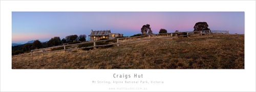 Craigs Hut, Apline National Park, Victoria