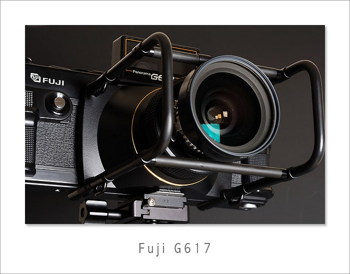 Fuji G617 panoramic camera for sale with original case, manual etc