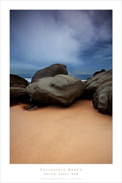 forresters beach rock